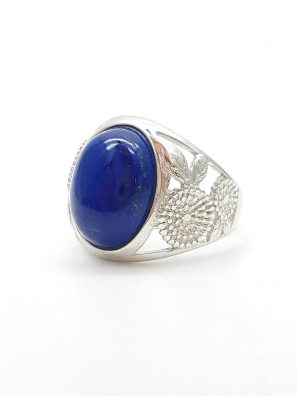 Bague en argent Lapis-lazuli