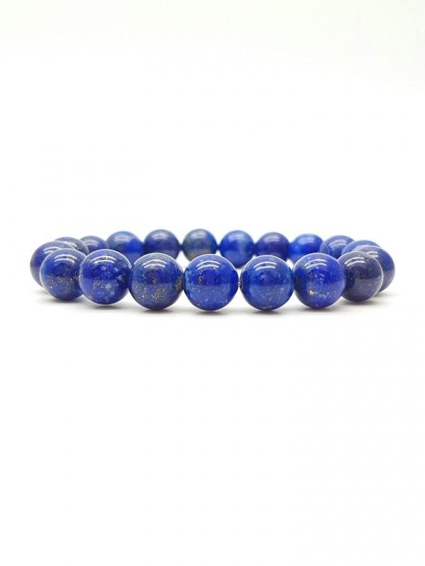 Bracelet en Lapis-lazuli 10mm